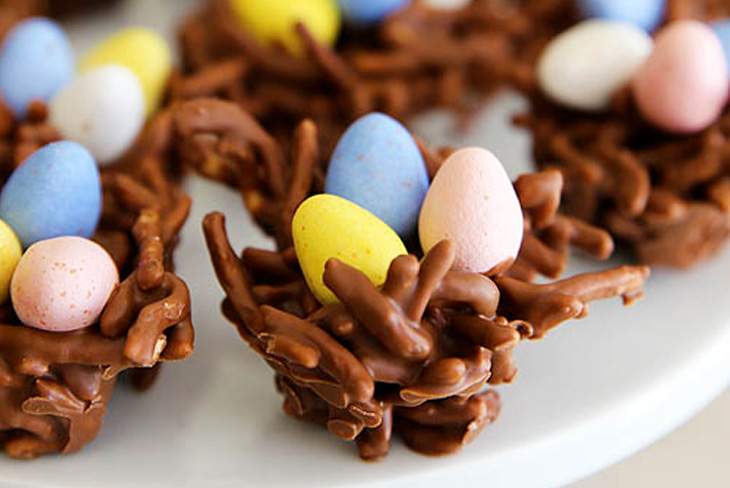 BIRD'S NESTS! EASY & SWEET! JUST IN TIME FOR EASTER